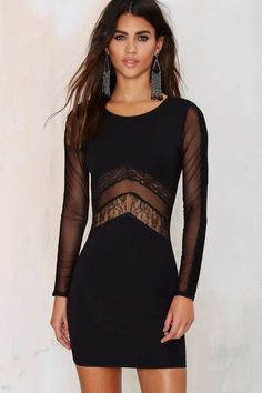 WYLDR New Yorker Bodycon Dress - Going Out   Body-Con   LBD