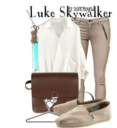 """Luke Skywalker"" by lalakay on Polyvore"