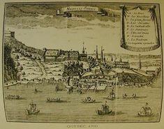 Quebec- la capitale de la nouvelle France 1688 le port de Quebec Une dizaine de navires français fréquentent la rade de Québec à la fin du XVIIe siècle, sans compter les barques et les canots qui assurent le transport des marchandises sur le fleuve.