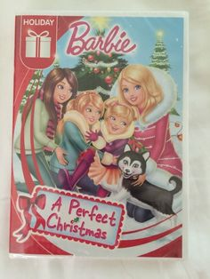 New Barbie A Perfect Christmas DVD 2015 Free Shipping Movie Christmas Gift 025192314629 | eBay