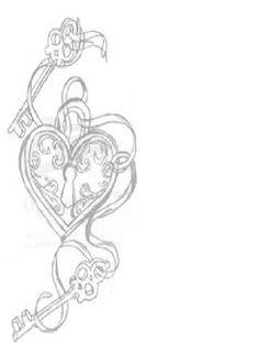 Love. Lock. Key. Binding