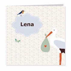 Geboortekaartje Lena