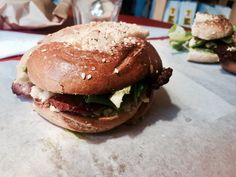 Bobs bagels :Kalk bay , South Africa 🌻 Bagels, Salmon Burgers, Bobs, South Africa, Hamburger, Travel Photography, Ethnic Recipes, Salmon Patties, Hamburgers