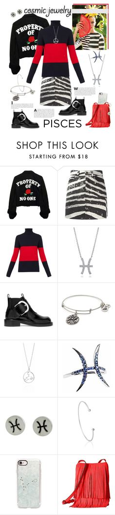 """Cosmic Jewelry - Sign Pisces"" by ellie366 ❤ liked on Polyvore featuring Marc Jacobs, Wood Wood, BERRICLE, Maison Margiela, Alex and Ani, NOVICA, Astrid & Miyu, Casetify, Rebecca Minkoff and Kate Spade"