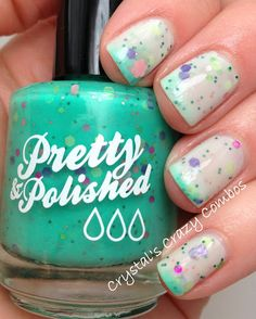 Shut up and take my money. May Flowers Full Sized Color Changing Nail Polish. $9.50, via Etsy.