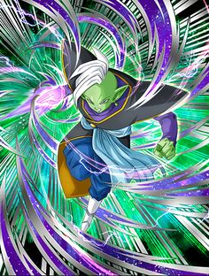 God of rebellion zamasu by Dbzdokkanbattlecard2.deviantart.com on @DeviantArt