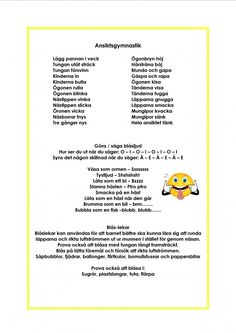 Mariaslekrum Educational Activities For Kids, Social Activities, Learn Swedish, Swedish Language, Speech And Language, Pre School, Diy For Kids, Teaching, Songs