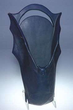 "1284: Rookwood Bat wall pocket, AMV, 1904, 13 3/4"" : Lot 1284"