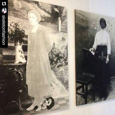 #Repost @skeletonfashion  #mybiennalern @biennaledisegno #museodellacittà #cantieredeldisegno #nicomingozzi