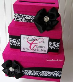 Wedding Card Box Wedding Card Gift Card by LaceyClaireDesigns, $106.00