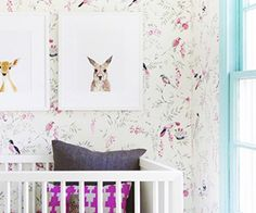 This beautifully modern baby space has us asking,