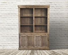 RH Inspired Shanty Sideboard & Hutch
