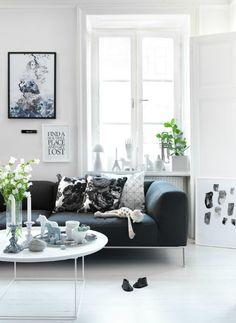white window display