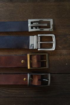 Leather belt custommade via Nabamu Design. Click on the image to see more!