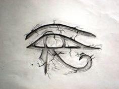 Horus Eye Tattoo by BobbyAmok