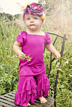 Pixie Girl Flamenco SetRuffle Top & Pant Set12 Months to 14 Years