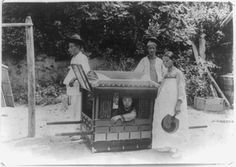 Korea in the Imperial Era and Japanese Occupation: Wealthy Lady in her Sedan Chair