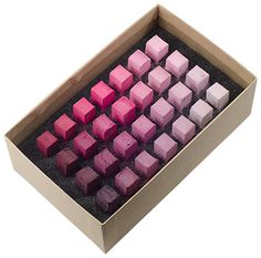 Blue Earth Soft Pastels : 28 Stick Box Set : Quinacridone Pink