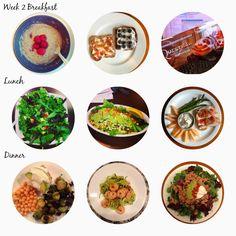 Clean eating Meal Plan! Week 2