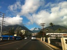 The Iao Valley from the road.