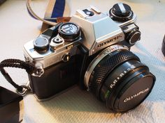 Olympus OM10 for sale with high quality glass lenses, the perfect hipster camera