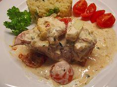 Bresso - Hähnchen überbacken mit Tomaten, ein sehr leckeres Rezept aus der Kategorie Überbacken. Bewertungen: 146. Durchschnitt: Ø 4,3.