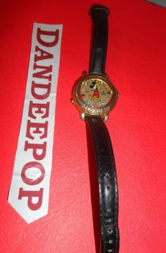 Disney Mickey Mouse Lorus Watch Fashion collectible jewelry find me at www.dandeepop.com