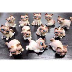 Grumpy Cat figurines