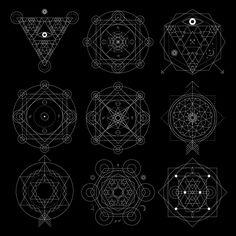 Mystical Geometry Vectors.