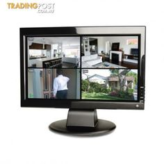 "Swann 15"" TFT LCD Full HD Crystal Clear Colour Monitor"