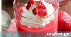Cookbook Recipes, Cooking Recipes, Food Categories, Greek Recipes, Easy Desserts, Panna Cotta, Raspberry, Pudding, Keto