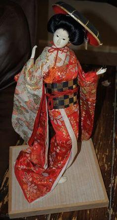 vintage dolls Japanese Doll, Vintage Dolls, Art Dolls, Nostalgia, Christmas Ornaments, Holiday Decor, Ebay, Fashion, Moda