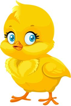 Find Little Cute Yellow Cartoon Chick Isolated stock images in HD and millions of other royalty-free stock photos, illustrations and vectors in the Shutterstock collection. Thousands of new, high-quality pictures added every day. Cute Images, Cute Pictures, Baby Animals, Cute Animals, Cute Cartoon Animals, Animals Images, Drawing For Kids, Animal Paintings, Stone Painting