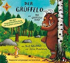 Hörbuch CD - Der Grüffelo & das Grüffelokind, gesprochen und gesungen von der Schauspielerin Ilona Schulz.