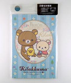 San-X Rilakkuma bear letter set 4718733168688