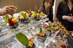 Buffet Presentation / acrylic risers new tasting table