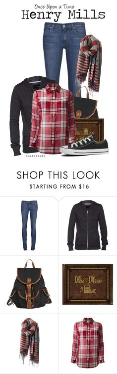 """""""Henry Mills"""" by charlizard ❤ liked on Polyvore featuring Citizens of Humanity, Hurley, Once Upon a Time, MICHAEL Michael Kors, Converse, onceuponatime, ouat, TV and HenryMills"""