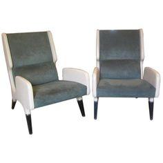 Pair of Gio Ponti Armchairs