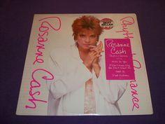 "Roseanne Cash - Rhythm & Romance - Rare 12"" Vinyl LP Record - Columbia 39463"