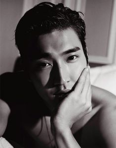 Choi Siwon lensed by Karl Lagerfeld for the 27th issue of VMAN magazine.