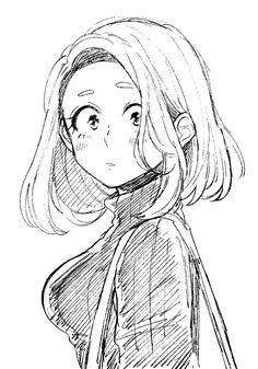 My Hero Academia (僕のヒーローアカデミア) - Ochako Uraraka (麗花 お茶子) Boku No Hero Academia, My Hero Academia Manga, Hero Academia Characters, Anime Characters, Character Art, Character Design, Anime Lindo, Chica Anime Manga, Anime Sketch