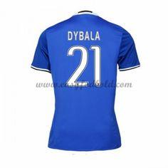 Fodboldtrøjer Series A Juventus 2016-17 Dybala 21 Udebanetrøje