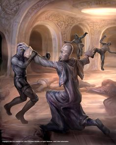 Darth Plagueis scene by Chris Scalf