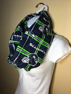 New to Sewdivine77 on Etsy: Seattle Seahawks flannel scarf (13.00 USD)
