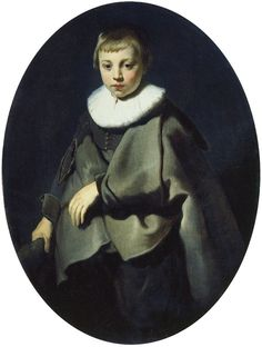Jacob Backer, 1634 - - - Portrait of a Boy in Grey