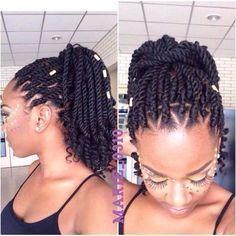 how to curl the afro twist braids marley hair crochet braids crochet hair styles Natural Curls, Natural Hair Care, Natural Hair Styles, Long Hair Styles, Crochet Braids Marley Hair, Crochet Hair Styles, Marley Crochet, Protective Styles, Short Marley Twists