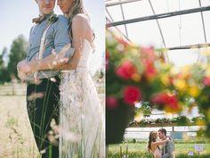 Canadian Greenhouse Wedding