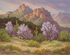 """""""Blooming Ironwoods,"""" by Susanne Nyberg"""