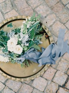 Photography : Jake and Heather | Floral Design : Philosophy Flowers Read More on SMP: http://www.stylemepretty.com/little-black-book-blog/2015/12/04/charming-french-estate-wedding-inspiration/