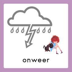 WELKOM weekkalender onweer